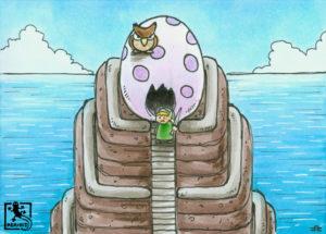 Windfisch-Ei (Zelda - Link's Awakening)