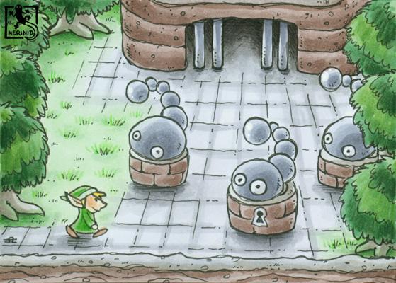 Wurmpalast (Zelda - Link's Awakening)