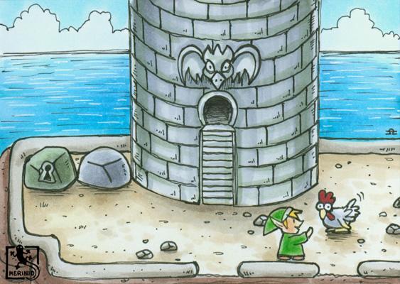 Adlerfestung (Zelda - Link's Awakening)