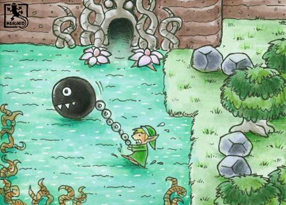 Dschinn-Grotte (Zelda - Link's Awakening)