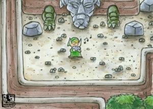 Salamanderfelsen (Zelda - Link's Awakening)