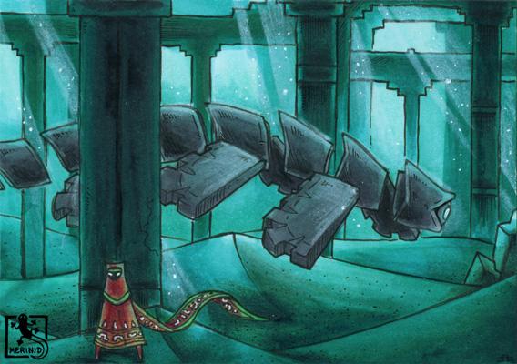 Untergrund-Passage