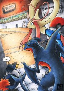 Pokémon Kampfturnier - Vorstellung der Pokémon