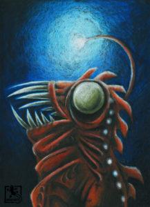 Lampenfisch-Kostüm