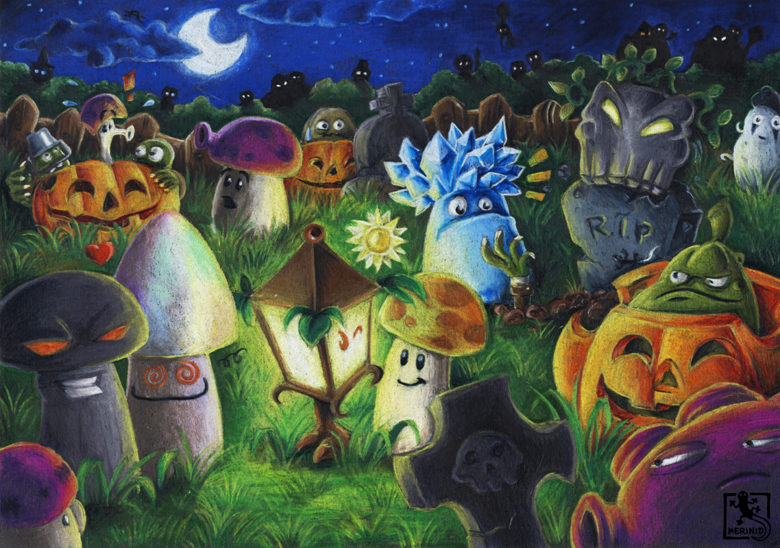 Nachtschicht - Plants vs. Zombies