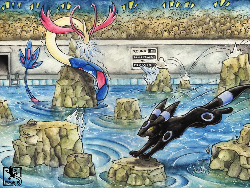 Pokémon Kampfturnier - Runde I - Wasserkampf