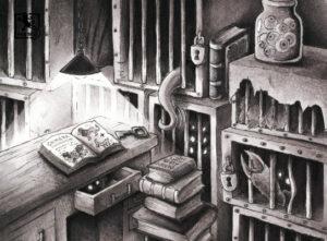 Im Labor der Gruselvilla