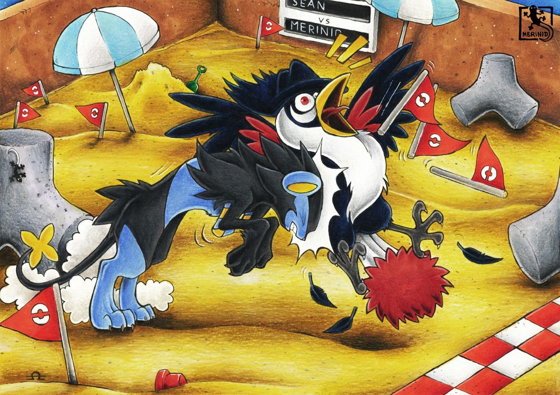 Pokémon Kampfturnier - Runde II - Flaggenschnappen