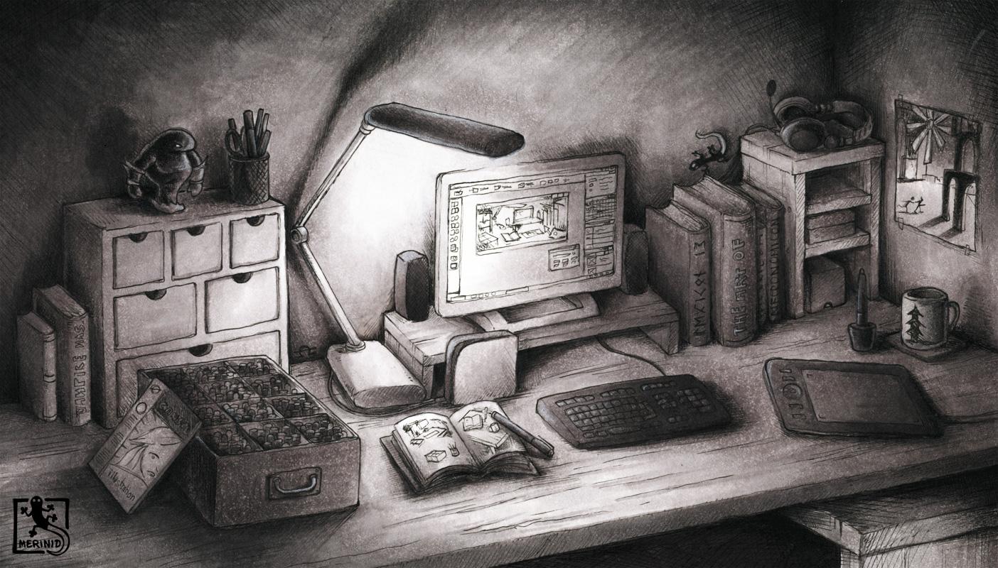 Merinid's Desktop