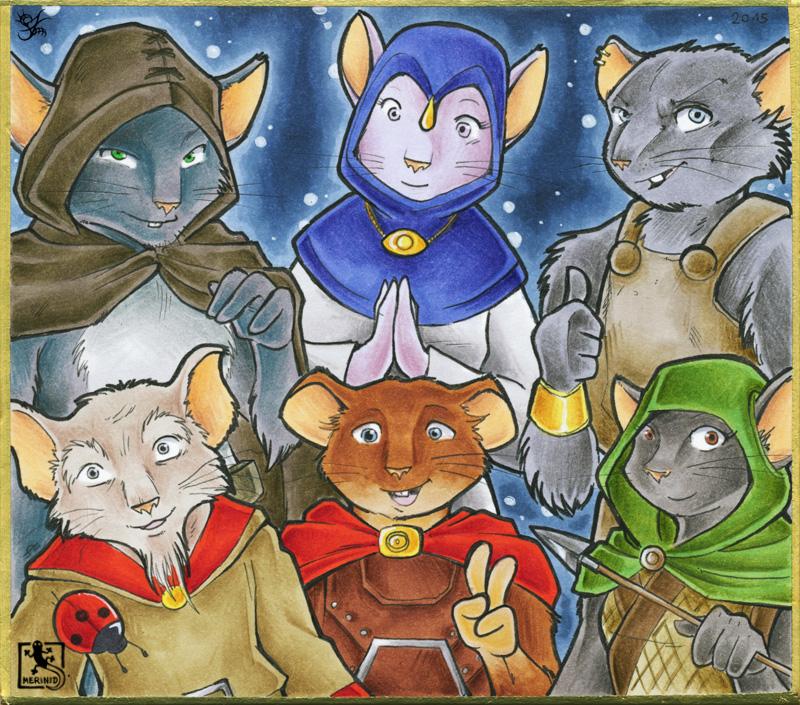 Maus & Mystik - Charaktere