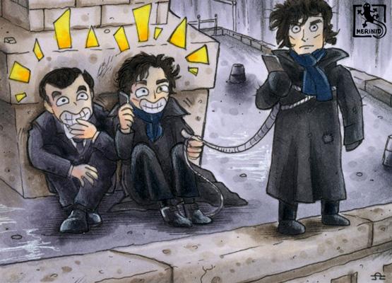 Eine Theorie - Sherlock BBC