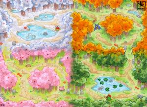 Vier-Jahreszeitenwald