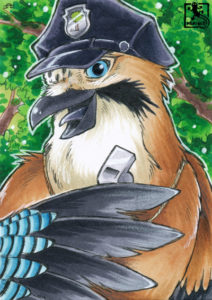 Der Polizist des Waldes