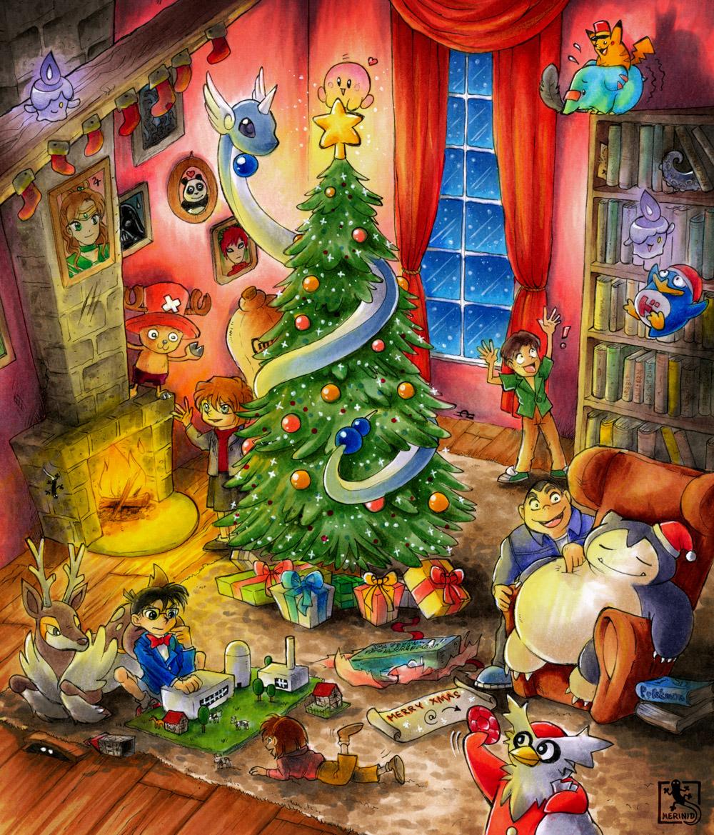 Weihnachten bei den Detective Boys (Wichtelbild)