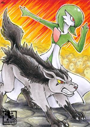 Pokémon Magnayen und Guardevoir