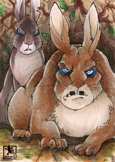 Captain Campion und General Woundworth - Watership Down - Kaninchen - Efrafa