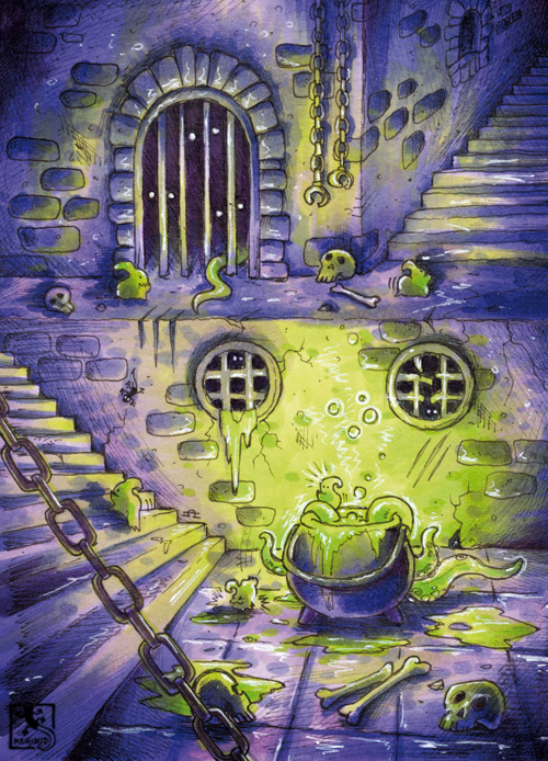 Dungeon-Cauldron - Fantasy