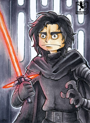 Star Wars - Crazy Kylo Ren