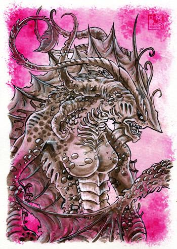 Inktober - Hydra
