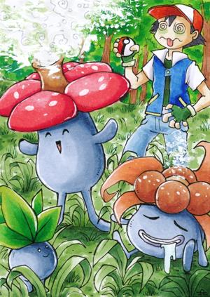 Pokémon - Giflor, Duflor, Myrapla