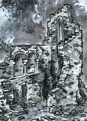 Inktober - Ruine 01